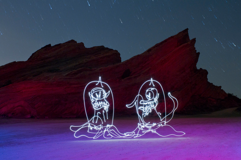 light painting photography tips with darren pearson